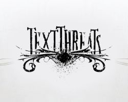 Text Threats Logo by joezerosum