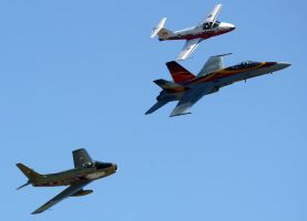 RCAF Heritage Flight by shelbs2