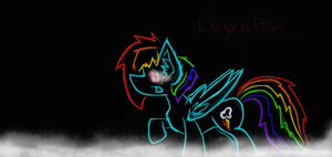 Soulless- Rainbow Dash by crazyH8