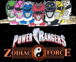 Power Rangers Zodiac Force [Poster] by DoctorWhoOne