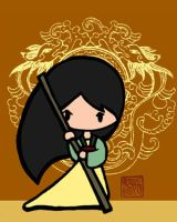 Mulan by cippow25