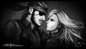 EVA AND BIG BOSS by amirulhafiz