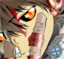 Hollow Tsuna O_o by Rayjii