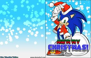 A Very Sonic Christmas Card by MegaMac