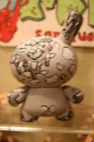 back of the black n grey bunny by anthonyDeVito
