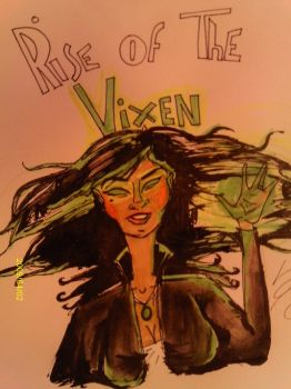 Rise of the vixen by ladydinosaur