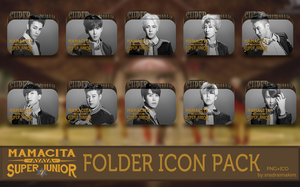 Super Junior - Mamacita Folder Icon Pack by SNSDraimakim