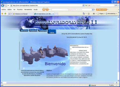 Web Page by lievano