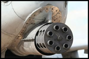 RIAT 2007 - A10 30mm Cannon by HaVoCMaN