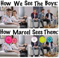 We vs marcel by DirectionForLyfe