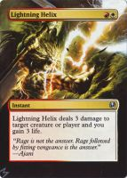 Lightning Helix alter by MimiMunster
