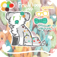 Fruit loops pup auction {Closed} by Flovvers
