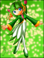 Cosmo the Seedrian by kiki-the-cat