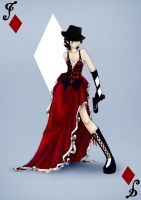 Jack of Diamonds by NiranAroon