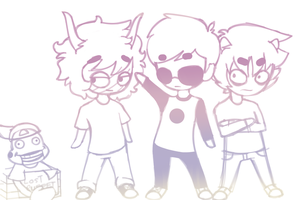 Homestuck Doodle by DaBear1234