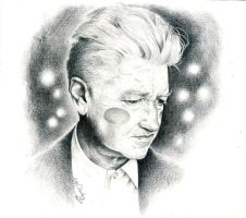 David Lynch by LadyOrlandoArt