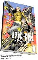 Epic Kill trade paperback by Raffaele-Ienco