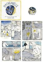 Machiavelli, the cat with heart of gold by Tawwies