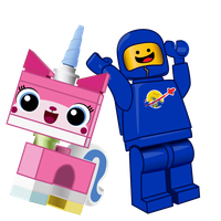 UniKitty + 80s Space Guy by anarchemitis