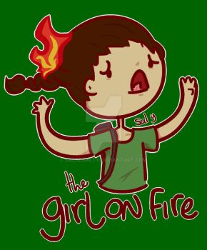 THG: Girl on Fire by saladsalty