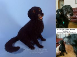 Needle Felted Portrait Sculpture by ZadaCreations
