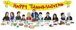 Thanksgiving with the Charming Family by K-A-Mill
