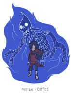 Madara Susanoo - Adventure Time style by Musical-Coffee