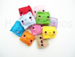 Special Gift: Cubed Plush by CosmiCosmos