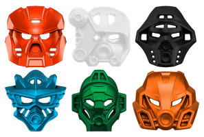 The Elemental Masks of Power by imperial96