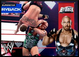 Custom Ryback Trading Card by deviantfafnir