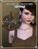 Steampunk Earrings Promo 3 by inception8