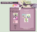 Journal Skin: Nowi by TheRosePrince