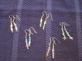My Vacation Earring Collection by DreamsCanComeTrue67