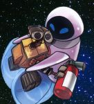 Eve and Wall-e by Soldier1rsZackFair