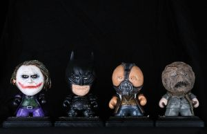 Dark Knight Series Munny by IncredibleCreature