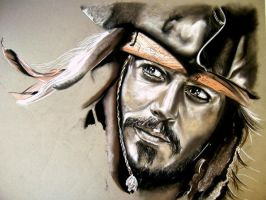 The making of... Jack Sparrow by Lost-in-decay