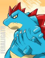 FERALIGATR by ChainWolfZarokku