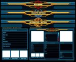 SWTOR Character Sheet Templates by Isriana