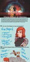 MASSIVE Mass Effect 2 meme by freyah