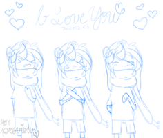 .: Preview / WIP :. I Love You in Sign Language by iFailAtEverything