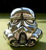Stormtrooper chrome Buckle by Pabloramosart