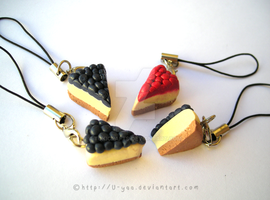 fimo Cheesecakes by TokiCrafts