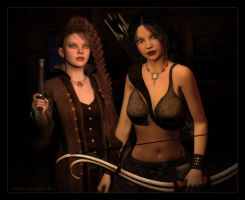 The Pirate and The Pagan by karibous-boutique