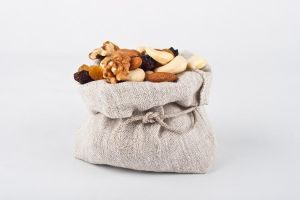 Bag of nuts by akadime