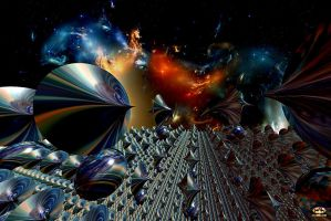 Space Elegy by DorianoArt