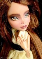 Fully Customized Monster High doll: Cleo de Nile by Katalin89