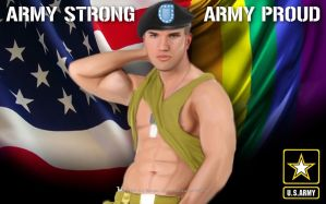 Army Strong Army Proud by theBatmark