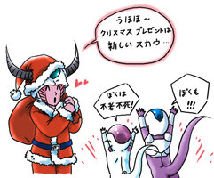 merry christmas^^ by frieza-love