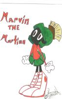 Marvin The Martian by CourtneyB0420