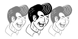 3 Faces of Steve by superpower-pnut